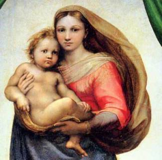 Raphael-Madonna-Child-sisti