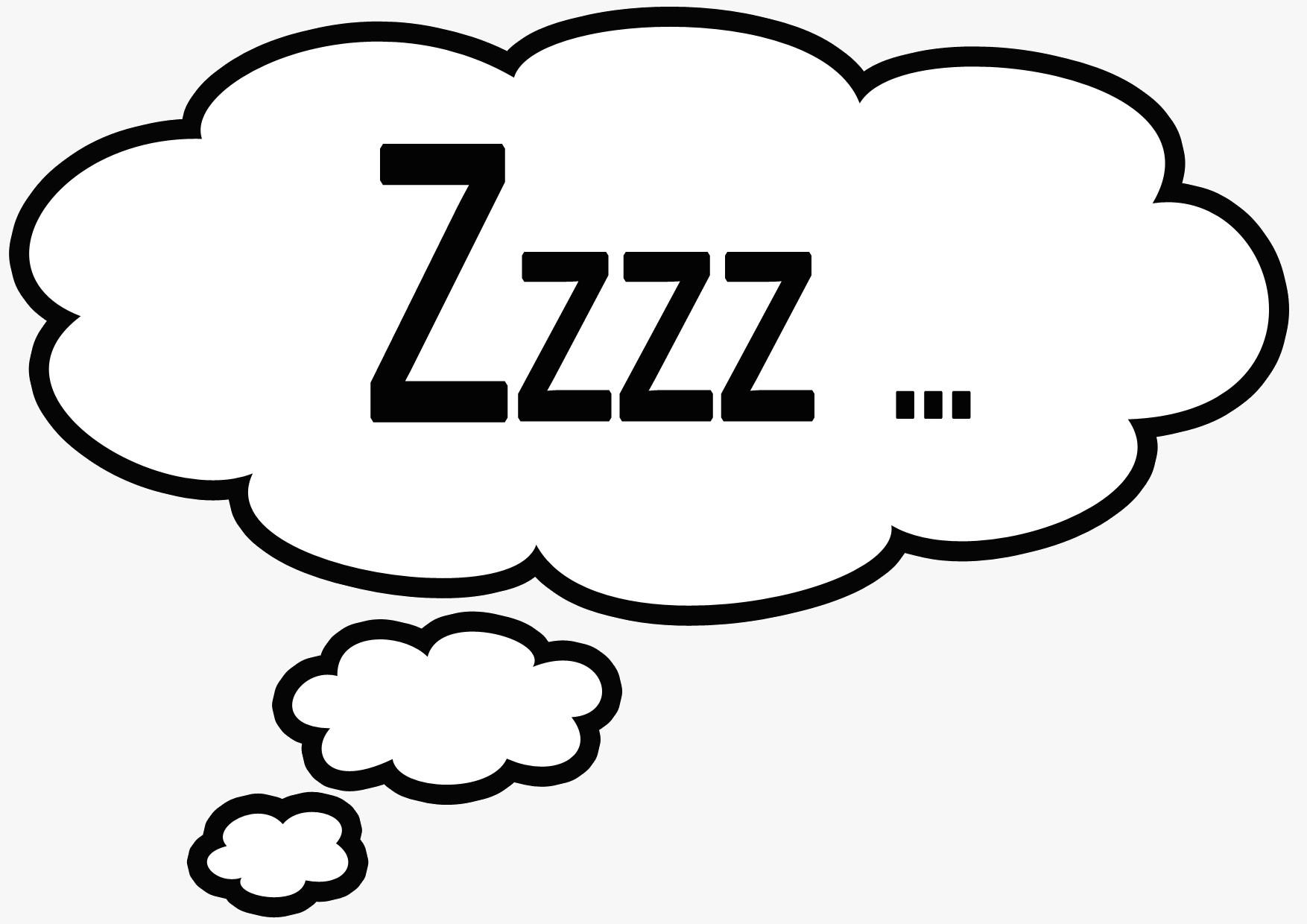 sleeping cartoon zzz naiqkh clipart on psychology and neuroscience